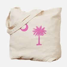 Palmetto & Cresent Moon Tote Bag