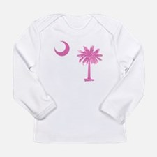 Palmetto & Cresent Moon Long Sleeve Infant T-Shirt