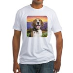 Beagle Meadow Fitted T-Shirt
