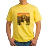 Beagle Meadow Yellow T-Shirt