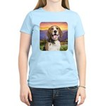 Beagle Meadow Women's Light T-Shirt