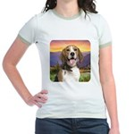 Beagle Meadow Jr. Ringer T-Shirt