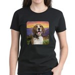 Beagle Meadow Women's Dark T-Shirt