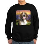 Beagle Meadow Sweatshirt (dark)