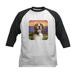 Beagle Meadow Kids Baseball Jersey