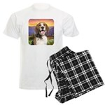 Beagle Meadow Men's Light Pajamas