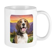 Beagle Meadow Mug