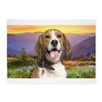 Beagle Meadow 5'x7'Area Rug