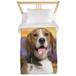 Beagle Meadow Twin Duvet