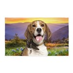 Beagle Meadow 3'x5' Area Rug