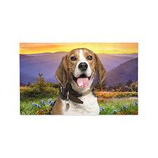 Beagle Meadow 3'x5' Area Rug