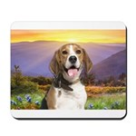 Beagle Meadow Mousepad
