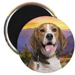 Beagle Meadow Magnet
