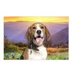 Beagle Meadow Postcards (Package of 8)