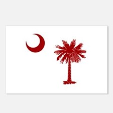 Palmetto & Cresent Moon Postcards (Package of 8)