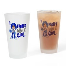 Fight Like a Girl 42.8 CFS Drinking Glass