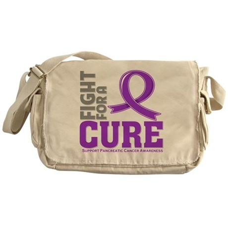 Pancreatic Cancer Fight Messenger Bag
