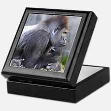 Gorilla in Thought Keepsake Box