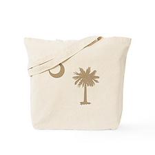 Palmetto & Cresent Moon Tote Bag