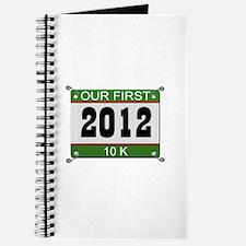 Our First 10K (Bib) - 2012 Journal