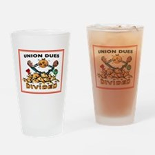UNION GREED Drinking Glass