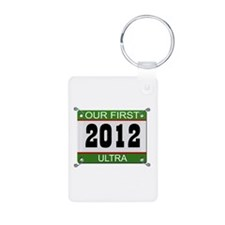 Our First Ultra (Bib) - 2012 Keychains