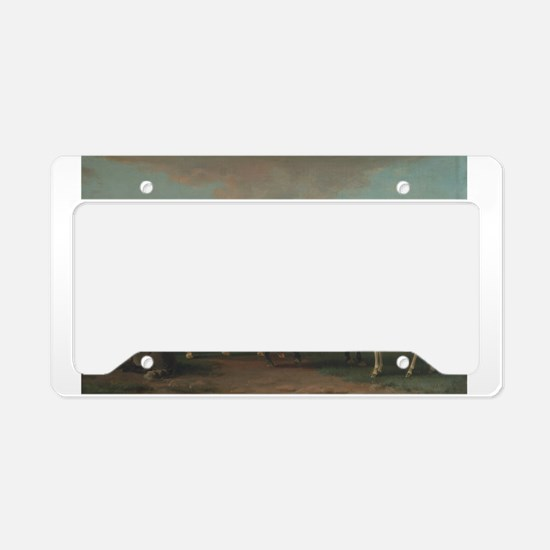 Mares and Foals License Plate Holder