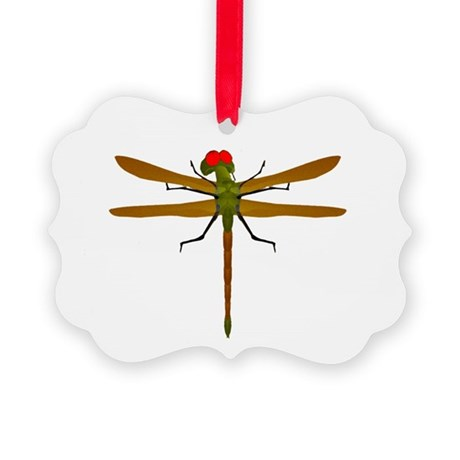 dragonfly8b.png Picture Ornament
