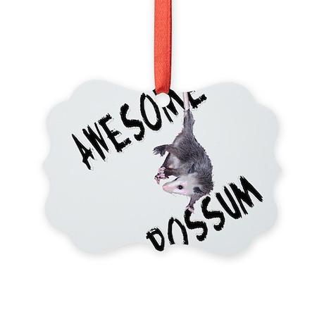 possum32a.png Picture Ornament