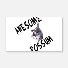 possum32a.png Rectangle Car Magnet