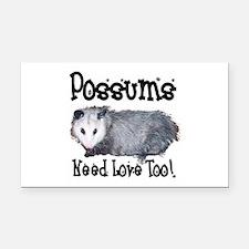 possum33.png Rectangle Car Magnet
