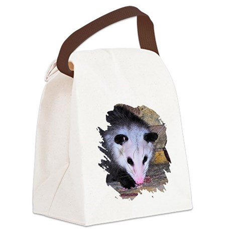 possum Canvas Lunch Bag