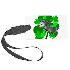 Lucky Irish Possum Luggage Tag
