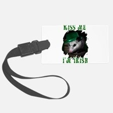 Possum Irish Luggage Tag