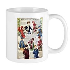 1910s Winter Scarves Mug