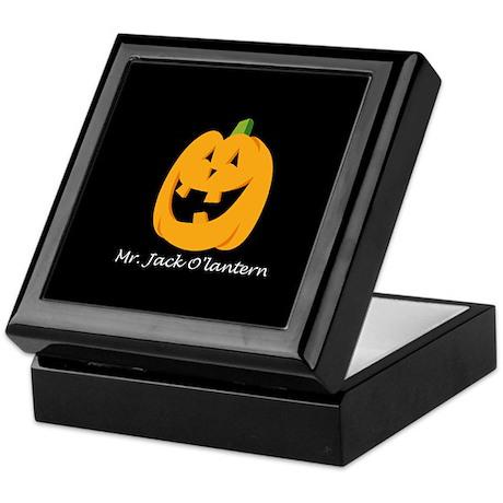 Mr. Jack O'lantern Keepsake Box