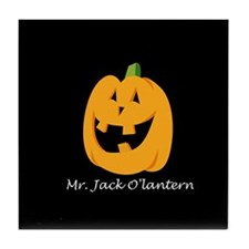 Mr. Jack O'lantern Tile Coaster