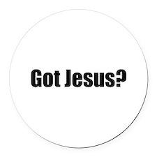 Got Jesus? Round Car Magnet