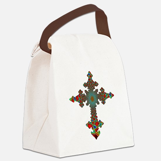 cross24c.png Canvas Lunch Bag