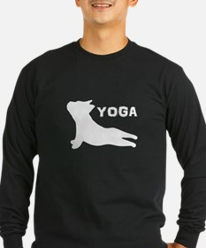 French Bulldog, Yoga Lover Long Sleeve T-Shirt