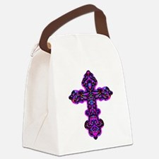 cross26e.png Canvas Lunch Bag