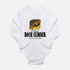 Future Rock Climber like Mommy Body Suit Body Suit