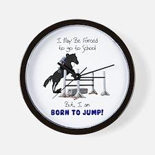 Fun Hunter Jumper Horse Wall Clock