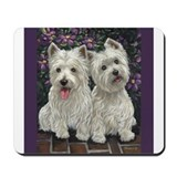 West highland white terrier Classic Mousepad