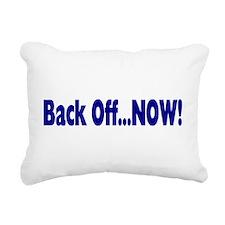 backoff.png Rectangular Canvas Pillow