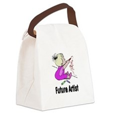 artist.png Canvas Lunch Bag
