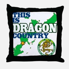 Dragon Country Throw Pillow