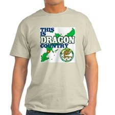 Dragon Country Ash Grey T-Shirt