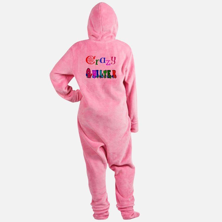 Crazy Quilter Footed Pajamas
