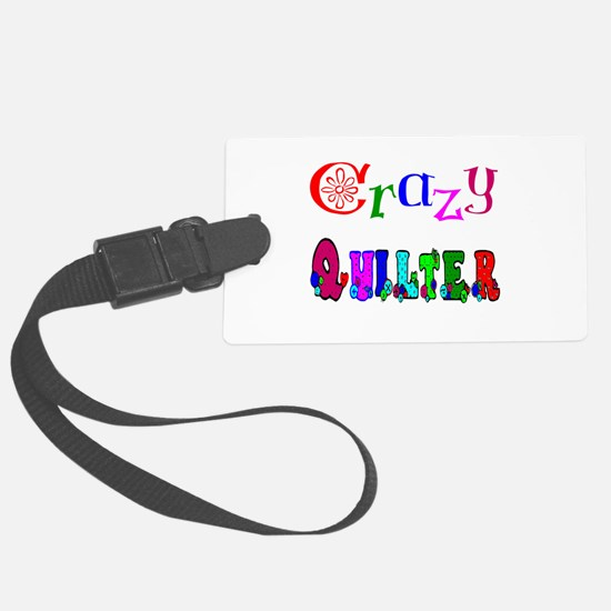 Crazy Quilter Luggage Tag